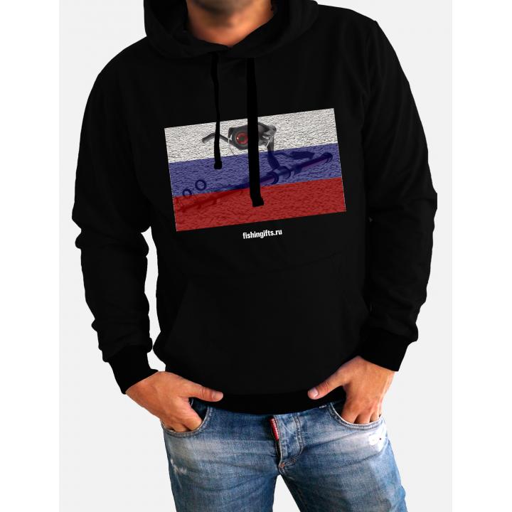 """Толстовка 3D """"Стильный патриот"""""""