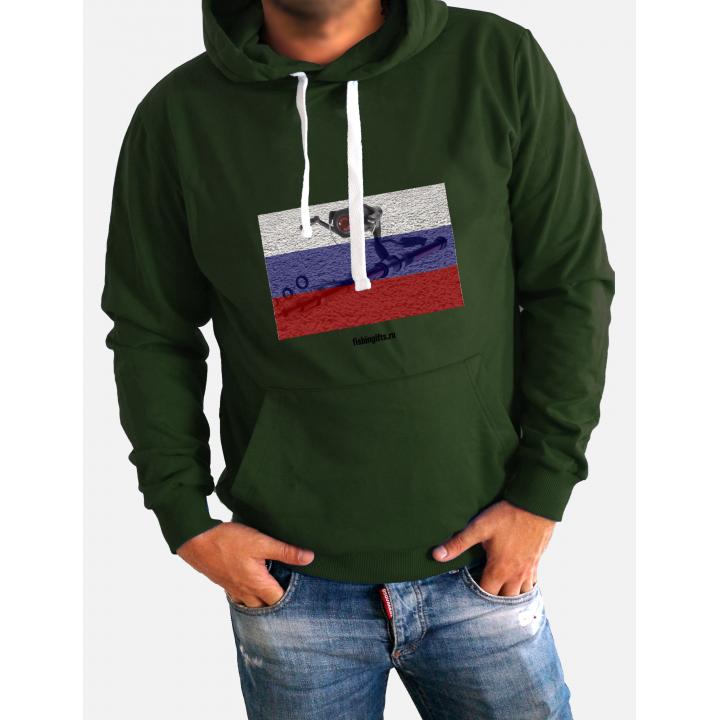 """Толстовка """"Стильный патриот"""""""