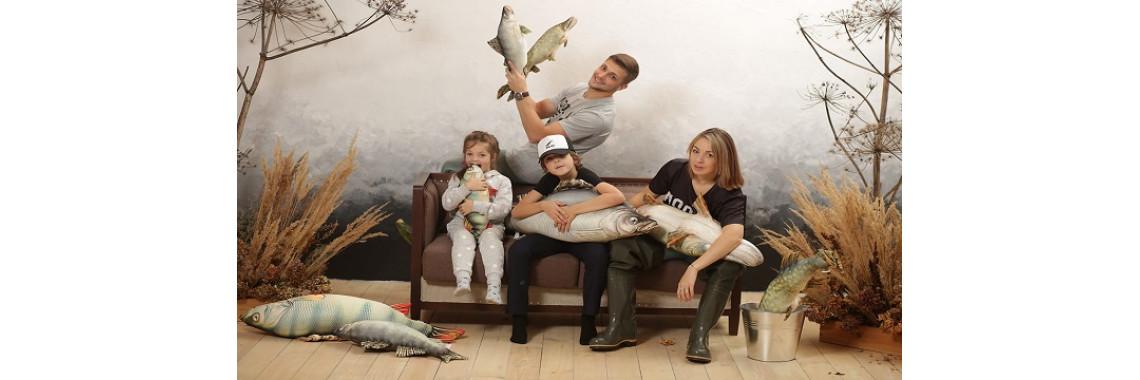 Прикольные подушки рыбы