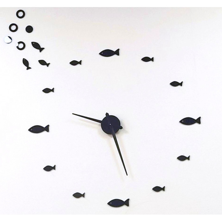 """Часы настенные """"Душа рыбака"""""""