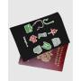 """Обложка для паспорта """"Набор рыбака"""""""