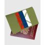 """Обложка для паспорта """"Патриот рыбалки"""""""
