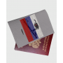 """Обложка для паспорта """"Стильный патриот"""""""