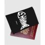 """Обложка для паспорта """"Рыбка скелет"""""""