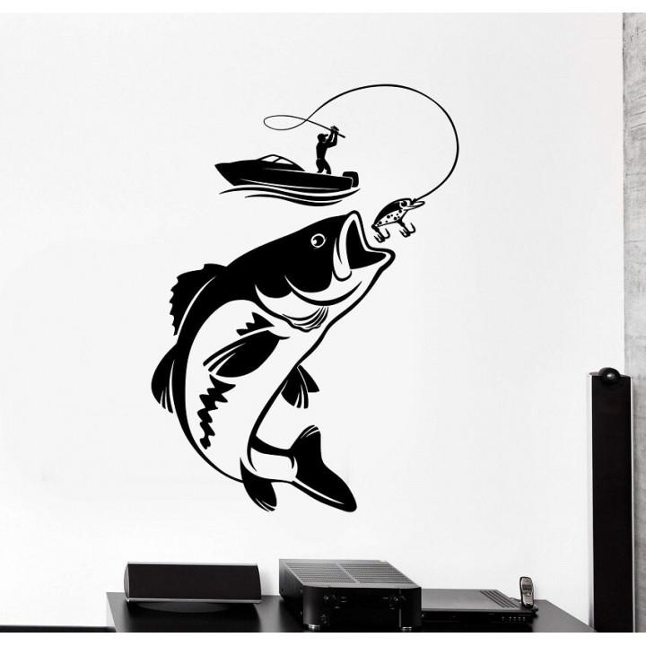 """Принт на стену """"Дом рыбака"""""""