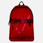 """Рюкзак рыбака """"FisherWoman"""" (красный-черный)"""