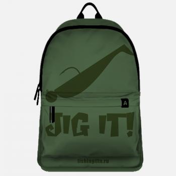 """Рюкзак рыбака """"Jig It"""" (хаки-хаки)"""