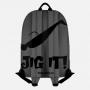 """Рюкзак рыбака """"Jig It"""" (серый-черный)"""