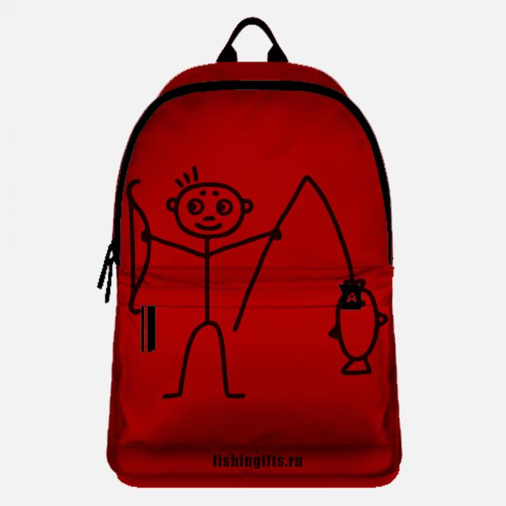 """Рюкзак рыбака """"Малыш"""" (красный-черный)"""