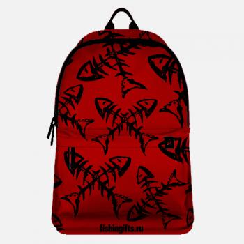 "Рюкзак рыбака ""Рыбка-скелет*2"""