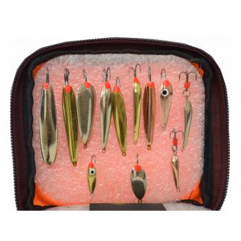 Набор блесен для зимней рыбалки ПИРС-67
