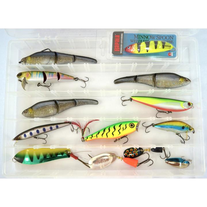 Набор рыболовных приманок Дельта